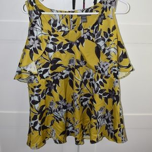 A Pea in the Pod silky maternity blouse size M